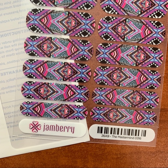 Jamberry Other - B3G1 Jamberry The Mastermind Full Sheet. Licensed.